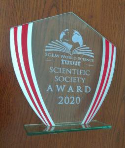 Award statue SGEM 2020