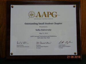 AAPG award